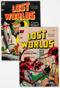 Golden Age (1938-1955):Science Fiction, Lost Worlds #5 and 6 Group (Standard, 1952) Condition: AverageVG.... (Total: 2 Comic Books)