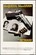 "Movie Posters:Action, The Getaway (National General, 1972). One Sheet (27"" X 41"") &Lobby Cards (2) (11"" X 14""). Action.. ... (Total: 3 Items)"