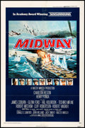"Movie Posters:War, Midway & Other Lot (Universal, 1976). One Sheet (27"" X 41"")& Lobby Cards (5) (11"" X 14""). War.. ... (Total: 6 Items)"