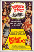 "Movie Posters:War, The Naked Brigade & Others Lot (Universal, 1965). One Sheets(3) (27"" X 41"") & Lobby Card Set of 8 (11"" X 14""). War.. ...(Total: 11 Items)"