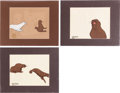 Animation Art:Production Cel, The White Seal Production Cel Group of 3 (Chuck JonesProductions, 1974).... (Total: 3 Items)