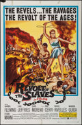 "Movie Posters:Adventure, The Revolt of the Slaves & Other Lot (United Artists, 1961).One Sheets (2) (27"" X 41""). Adventure.. ... (Total: 2 Items)"