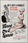 """Movie Posters:Comedy, Three on a Spree & Other Lot (United Artists, 1961). One Sheets(2) (27"""" X 41""""). Comedy.. ... (Total: 2 Items)"""