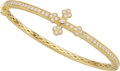 Estate Jewelry:Bracelets, Diamond, Gold Bracelet, JudeFrances. ...
