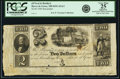Obsoletes By State:Maryland, Havre de Grace, MD - (O'Neal & Brother) at our Banking House $2 1840 Shank 63.6.2. Remainder. PCGS Very Fine 25 Apparent. . ...