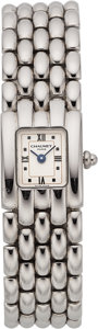 Estate Jewelry:Watches, Chaumet Lady's Stainless Steel Watch. ...