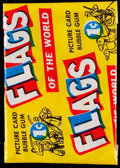 "Non-Sport Cards:Unopened Packs/Display Boxes, 1956 Topps ""Flags of the World"" 1-Cent Wax Pack. ..."