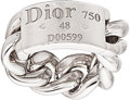 Estate Jewelry:Rings, White Gold Ring, Dior, French. ...