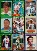 Football Cards:Sets, 1980-1991 Football Complete Set Collection (7)....