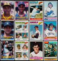 Baseball Cards:Sets, 1976 Topps Near Set (644/660) With Traded (44), 1977 Topps Near Set (658/660) & 1984 Donruss Baseball Complete Set (660)....