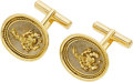 Estate Jewelry:Cufflinks, Gold Cuff Links, Elizabeth Gage. ... (Total: 2 Items)