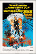 "Movie Posters:James Bond, Diamonds are Forever (United Artists, 1971). One Sheet (27"" X 41""). James Bond.. ..."