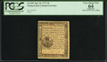 Colonial Notes:Pennsylvania, Pennsylvania April 10, 1777 3d PCGS Apparent Very Choice New 64.....