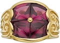 Estate Jewelry:Rings, Rhodolite Garnet, Gold Ring, Robert Wander. ...