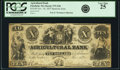 Obsoletes By State:Massachusetts, Pittsfield, MA - Agricultural Bank $10 Nov. 18, 1855 Spurious IssueMA-975 S20. PCGS Very Fine 25. . ...