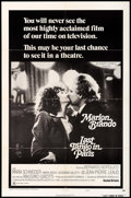 "Movie Posters:Drama, Last Tango in Paris (United Artists, 1972). One Sheet (27"" X 41"") Style C. Drama.. ..."