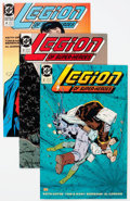 Modern Age (1980-Present):Superhero, Legion of Super-Heroes Box Lot (DC, 1989-2000) Condition: AverageNM-....