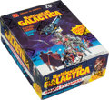Non-Sport Cards:Unopened Packs/Display Boxes, 1978 Topps Battlestar Galactica Wax Box With 36 Unopened Packs. ...