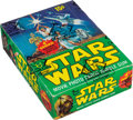 Non-Sport Cards:Unopened Packs/Display Boxes, 1977 Topps Star Wars Series 4 Wax Box With 36 Unopened Packs....