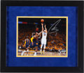 Basketball Collectibles:Photos, 2015 Stephen Curry Signed Photograph....