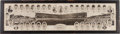 Baseball Collectibles:Photos, 1929 Chicago Cubs Panoramic Print....