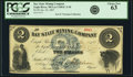 Obsoletes By State:Michigan, Eagle River, MI - Bay State Mining Company $2 Jan. 26, 1867 LeeCMGC-3-10. PCGS Choice New 63.. ...