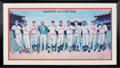 Baseball Collectibles:Others, 1988 500 Home Run Club Signed Poster.. ...