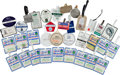 Baseball Collectibles:Others, 2000's Gary Carter Personal Golf Tags Lot of 35 from The GaryCarter Collection. ...