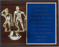 Baseball Collectibles:Others, 1992 Gary Carter 2000th Game Caught Award from The Gary CarterCollection. ...