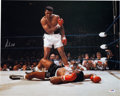 Boxing Collectibles:Memorabilia, 1990's Muhammad Ali Signed Large Photograph....