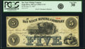 Obsoletes By State:Michigan, Eagle River, MI - Bay State Mining Company $5 May 25, 1867 Lee CMGC-3-15. PCGS Very Fine 30.. ...