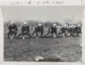 "Football Collectibles:Photos, 1936 Fordham ""Seven Blocks of Granite"" Original Press Photograph - With Lombardi...."