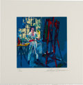 """Miscellaneous Collectibles:General, 1990's """"Self Portrait"""" Serigraph Signed by Leroy Neiman. ..."""