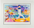 Baseball Collectibles:Others, 1991 Ted Williams - The Splendid Splinter Serigraph Signedby LeRoy Neiman....
