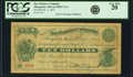 Obsoletes By State:Michigan, Marquette, MI - Bay Furnace Company $10 Oct. 1, 1873 Lee IMGC-2-4.PCGS Very Fine 20.. ...