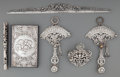 Silver Smalls:Other , Six Silver Desk Accessories, 20th century. Marks: (various marks).12 inches (30.5 cm) (longest, ruler). 8.29 troy ounces (w...(Total: 6 Items)