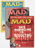 Magazines:Mad, MAD Magazine Short Box Group (EC, 1960-2008) Condition: Average VF....