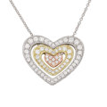 Estate Jewelry:Necklaces, Diamond, Gold Pendant-Necklace, Simon G.. ...
