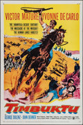 "Movie Posters:Adventure, Timbuktu & Others Lot (United Artists, 1959). One Sheets (3)(27"" X 41""). Adventure.. ... (Total: 3 Items)"