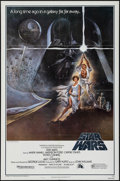 "Movie Posters:Science Fiction, Star Wars (20th Century Fox, 1977). Fourth Printing One Sheet (27""X 41"") Style A. Science Fiction.. ..."