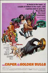 The Caper of the Golden Bulls & Others Lot (Embassy, 1967). One Sheets (2) & Spanish Language One Sheet...
