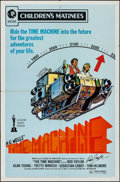 "Movie Posters:Science Fiction, The Time Machine (MGM, R-1972). Autographed One Sheet (27"" X 41"")Children's Matinee Style. Science Fiction.. ..."