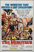 "Movie Posters:Adventure, The Minotaur (United Artists, 1961). Autographed One Sheet (27"" X41""). Adventure.. ..."