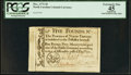 Colonial Notes:North Carolina, North Carolina December, 1771 £5 PCGS Apparent Extremely Fine 45.. ...