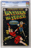 Golden Age (1938-1955):Science Fiction, Mystery in Space #1 (DC, 1951) CGC FN 6.0 Off-white to whitepages....