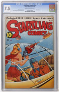 Golden Age (1938-1955):Science Fiction, Startling Comics #51 (Better Publications, 1948) CGC VF- 7.5 Creamto off-white pages....