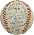Autographs:Baseballs, 1989 Atlanta Braves Team Signed Baseball. The '89 Braves were thelast Atlanta major league team not to be managed by the g...