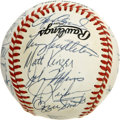 Autographs:Baseballs, 1989 St. Louis Cardinals Team Signed Baseball. A fantastic array of27 signatures from the 1989 St. Louis Cardinals can be ...