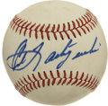 Autographs:Baseballs, Carl Yastrzemski Single Signed Baseball. Ted Williams' successor inthe Fenway Park left field proved to be a worthy replac...