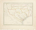 Western Expansion, 1835 Bradford's Map of Texas...
